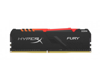 Оперативная память DDR4 8 Gb (3600 MHz) Kingston HyperX Fury RGB (HX436C17FB3A/8)