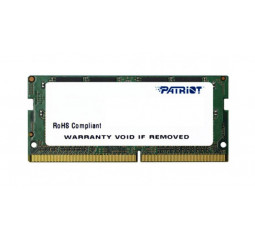 Память для ноутбука SO-DIMM DDR4 4 Gb (2400 MHz) Patriot Signature Line (PSD44G240082S)