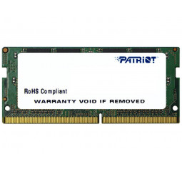 Память для ноутбука SO-DIMM DDR4 4 Gb (2666 MHz) Patriot Signature Line (PSD44G266681S)