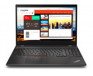 Ноутбук Lenovo ThinkPad T580 (20L9S14S00) Black