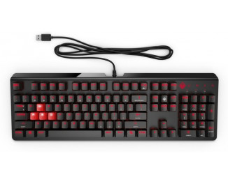 Клавиатура HP Omen Encoder USB CHERRY MX Brown (6YW75AA)