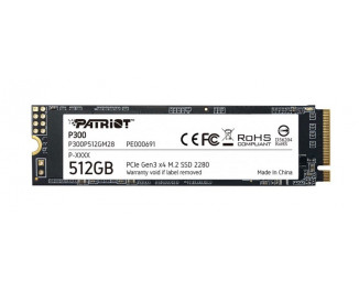 SSD накопитель 512Gb Patriot P300 (P300P512GM28)