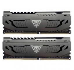 Оперативная память DDR4 16 Gb (3000 MHz) (Kit 8 Gb x 2) Patriot Viper Steel (PVS416G300C6K)