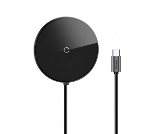 Адаптер USB Type-C > Hub и беспроводное зарядное устройство  Baseus Circular Mirror (Qi 10W, USB3.0, USB2.0, USB-C (PD)) (WXJMY-0G) /gray