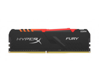 Оперативная память DDR4 8 Gb (3733 MHz) Kingston HyperX Fury RGB (HX437C19FB3A/8)