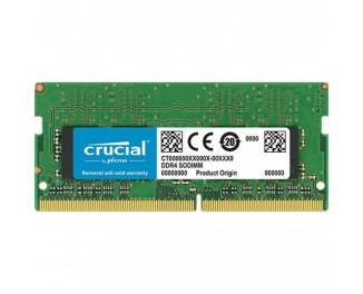 Память для ноутбука SO-DIMM DDR4 16 Gb (3200 MHz) Crucial (CT16G4SFD832A)