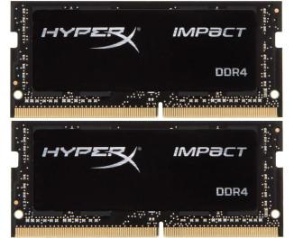 Память для ноутбука SO-DIMM DDR4 32 Gb (3200 MHz) (Kit 16 Gb x 2) Kingston HyperX Impact (HX432S20IBK2/32)