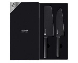 Набор ножей Xiaomi Huo Hou Black Non-Stick Knife Set 2 psc (HU0015)