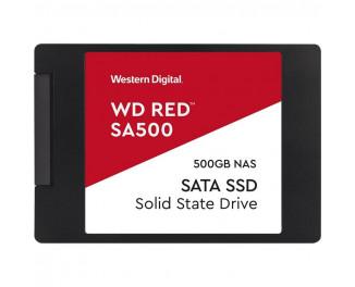 SSD накопитель 500Gb WD Red SA500 (WDS500G1R0A)