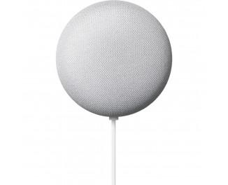 Умная колонка Google Nest Mini с голосовым ассистентом Google Assistant /Chalk