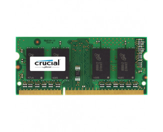 Память для ноутбука SO-DIMM DDR3 4 Gb (1866 MHz) Crucial for Mac (CT4G3S186DJM)