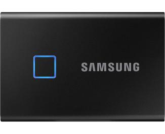 Внешний SSD накопитель 1 TB Samsung T7 Touch Black (MU-PC1T0K/WW)