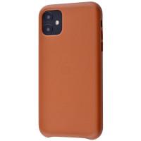 Чехол для Apple iPhone 11  Leather Case / brown