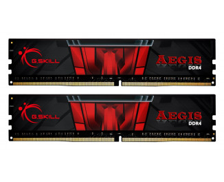 Оперативная память DDR4 16 Gb (2800 MHz) (Kit 8 Gb x 2) G.SKILL Aegis (F4-2800C17D-16GIS)