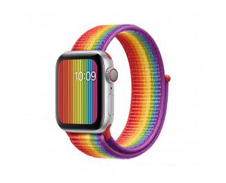 Нейлоновый ремешок для Apple Watch 38/40 mm Apple Sport Loop Pride Edition (MV9Q2ZM/A)