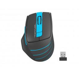 Мышь беспроводная A4Tech FG30S Blue/Black USB