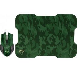 Мышь Trust GXT 781 Rixa Camo Mouse & Pad USB Camouflage (23611)