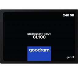 SSD накопитель 240Gb GOODRAM CL100 (SSDPR-CL100-240-G3)