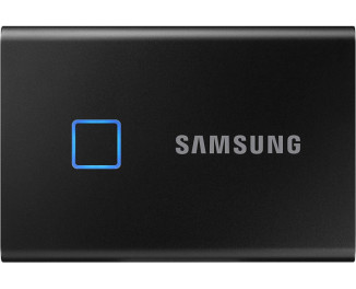 Внешний SSD накопитель 500Gb Samsung T7 Touch Black (MU-PC500K/WW)