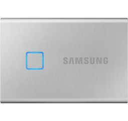 Внешний SSD накопитель 500Gb Samsung T7 Touch Silver (MU-PC500S/WW)