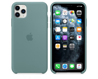 Чехол для Apple iPhone 11 Pro Max  Apple Sillicone Case Cactus (MY1G2ZM/A)