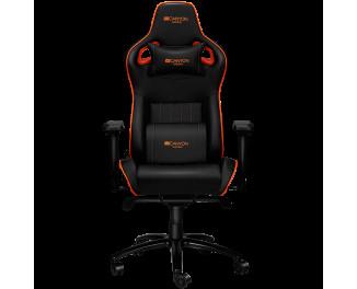 Кресло для геймеров Canyon Corax CND-SGCH5 черно-оранжевое