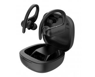 Наушники беспроводные QCY T6 True Wireless Sports Bluetooth Headset Black