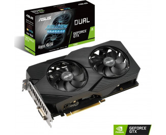 Видеокарта ASUS GeForce GTX 1660 Advanced Edition 6GB (DUAL-GTX1660-A6G-EVO)