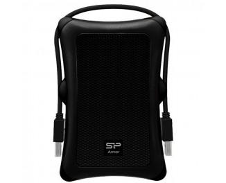 Внешний жесткий диск 1 TB Silicon Power Armor A30 Black (SP010TBPHDA30S3A)