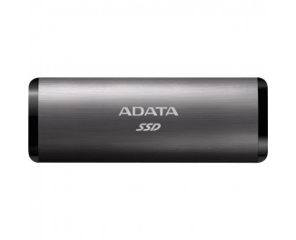 Внешний SSD накопитель 256Gb ADATA SE760 Titanium (ASE760-256GU32G2-CTI)