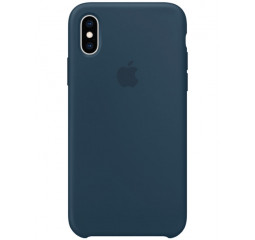 Чехол для Apple iPhone XS Max  Silicone Case /pacific green