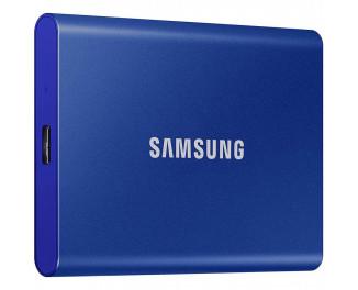 Внешний SSD накопитель 2 TB Samsung T7 Indigo Blue (MU-PC2T0H/WW)