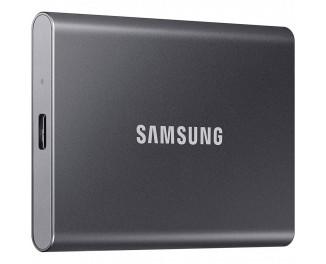 Внешний SSD накопитель 2 TB Samsung T7 Titan Gray (MU-PC2T0T/WW)