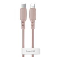 Кабель Lightning > USB Type-C  Baseus Colorful 18W 1.2m Pink