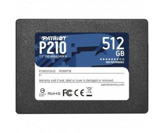 SSD накопитель 512Gb Patriot P210 (P210S512G25)