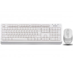 Клавиатура и мышь беспроводная A4Tech FG1010 White USB