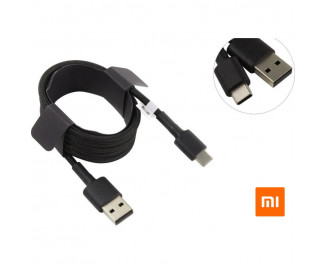 Кабель USB Type-C > USB  Xiaomi Mi Braided original 1.0m Black (SJV4109GL)