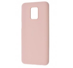 Чехол для смартфона Xiaomi Redmi Note 9S / Note 9 Pro  WAVE Colorful Case Pink sand