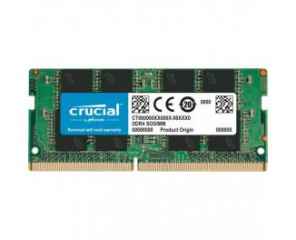 Память для ноутбука SO-DIMM DDR4 8 Gb (2666 MHz) Crucial (CT8G4SFRA266)