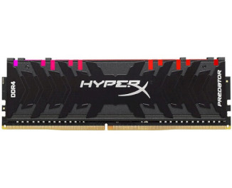 Оперативная память DDR4 8 Gb (4000 MHz) Kingston HyperX Predator RGB (HX440C19PB4A/8)