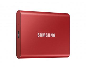 Внешний SSD накопитель 2 TB Samsung T7 Red (MU-PC2T0R/WW)