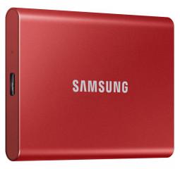 Внешний SSD накопитель 500Gb Samsung T7 Red (MU-PC500R/WW)