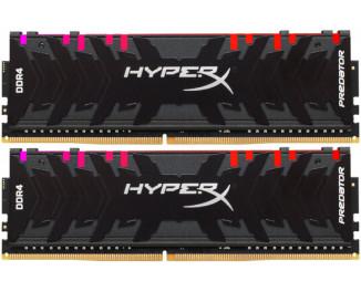 Оперативная память DDR4 64 Gb (3600 MHz) (Kit 32 Gb x 2) Kingston HyperX Predator RGB (HX436C18PB3AK2/64)