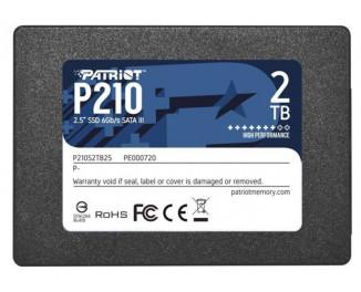 SSD накопитель 2TB Patriot P210 (P210S2TB25)