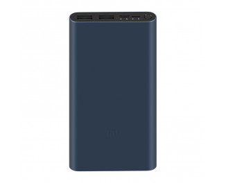 Портативный аккумулятор Xiaomi Mi Power Bank 3 10000mAh 18W Black (PLM13ZM, VXN4260CN)