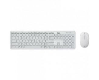 Клавиатура и мышь беспроводная Microsoft Atom Desktop Bluetooth Grey (QHG-00041)