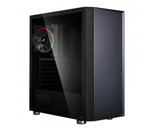 Корпус Zalman R2 Black RGB Glass