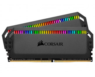 Оперативная память DDR4 64 Gb (3200 Mhz) (Kit 16 Gb x 4) Corsair Dominator Platinum RGB (CMT64GX4M4C3200C16)