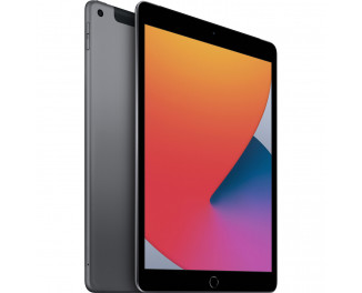 Планшет Apple iPad 10.2 2020  Wi-Fi + Cellular 32Gb Space Gray (MYMH2, MYN32)