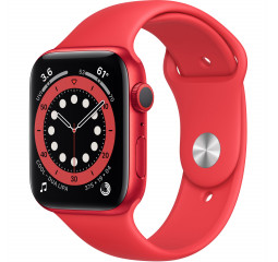 Смарт-часы Apple Watch Series 6 GPS 44mm PRODUCT(RED) Aluminum Case with PRODUCT(RED) Sport Band (M00M3)